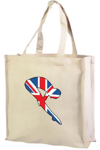 of Cream Tote Cotton Diving Jack Union British Shopping Best Bag Sport 1dxHvAS