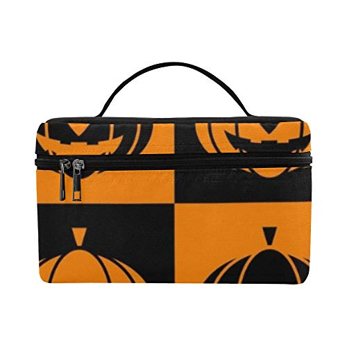 Halloween Icons Lunch Box Tote Bag Lunch Holder Insulated Lunch Cooler Bag For Women/men/picnic/boating/beach/fishing/school/work -