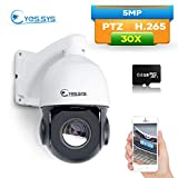 Eyes.sys 5MP PTZ Middle Dome Camera PoE 30x H.265 Zoom IP Auto