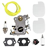 USPEEDA Carburetor Carb Kit for Poulan Pro PP4218A 18' 42CC Chainsaw Tune Up Kit