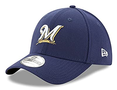 New Era Milwaukee Brewers MLB 39THIRTY Team Classic Flex Fit Hat