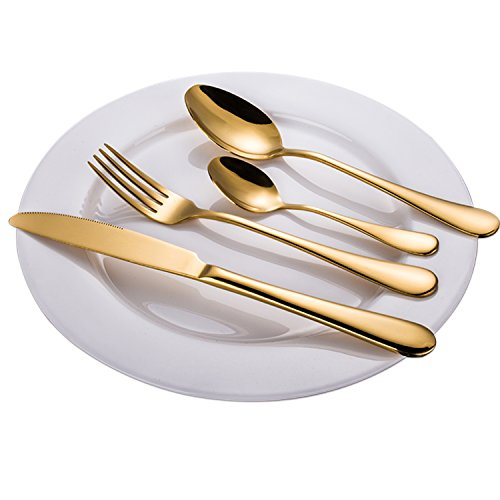 The 8 best gold flatware set for 12