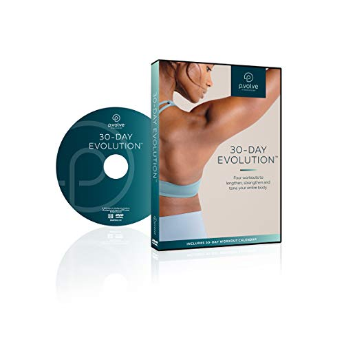 P.VOLVE 30-Day Evolution Workout Video DVD + Digital Copy (Best Exercise To Get Rid Of Hip Fat)