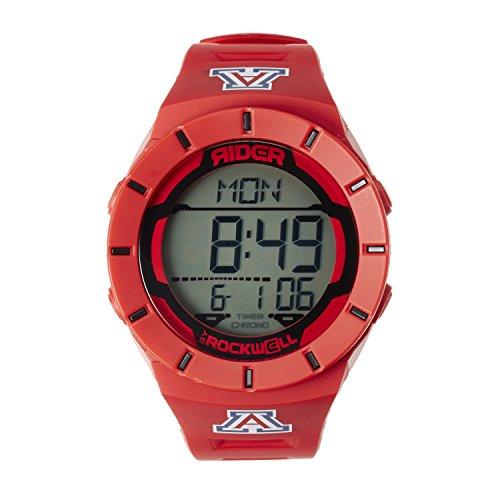 - Rockwell NCAA Arizona Wildcats Men's Coliseum Watch, Adjustable, Red