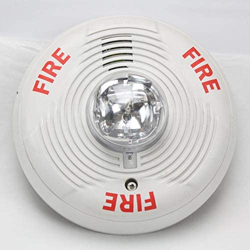 System Sensor PC2WH 2-Wire Horn Strobe Ceiling Mount Alarm