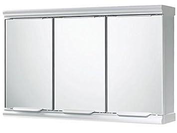 Gedy 3 Door Mirror Bathroom Cabinet - White Gloss  sc 1 st  Amazon UK & Gedy 3 Door Mirror Bathroom Cabinet - White Gloss: Amazon.co.uk ...