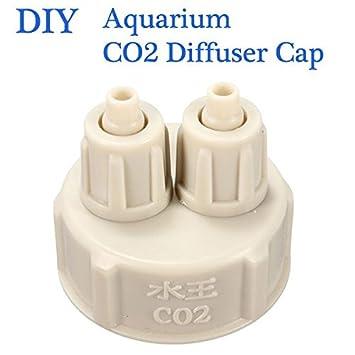 Popular Aquarium Bottle Cap for DIY Plants CO2 Diffuser Air Generator System EL