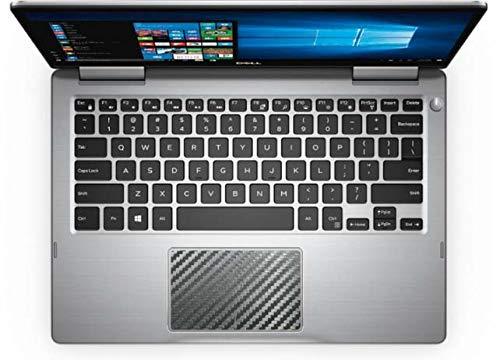 BingoBuy 5パック マットブラック タッチパッド トラックパッド デカール ステッカー スキンカバー プロテクター Dell inspiron 13-7000シリーズ用 13-7370/13-7373 13-7370/13-7373 ブラックカーボンファイバー B07KK31BLL