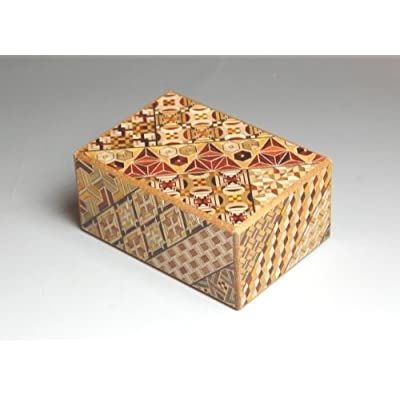 Yosegi Puzzle Box 4 sun - 7 steps: Toys & Games