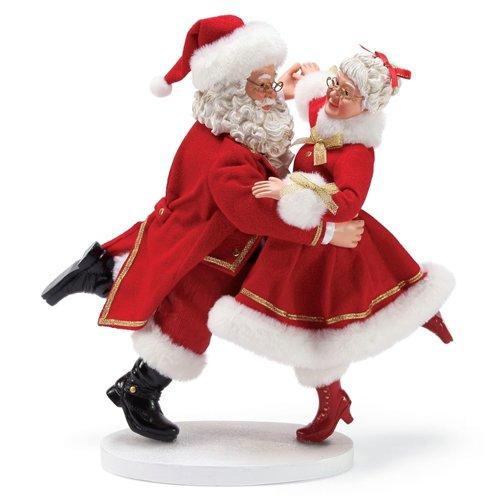 Department 56 Santa Dancing with North Pole Stars, 11.5