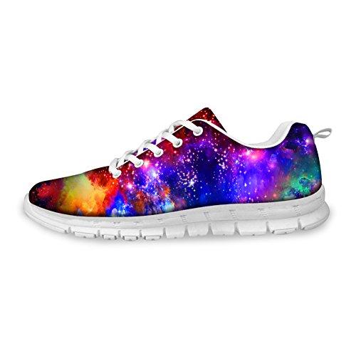 Knuffels Idee Schilderij Ontwerp Damesmode Casual Sneakers Lichtgewicht Loopschoenen Galaxy 4