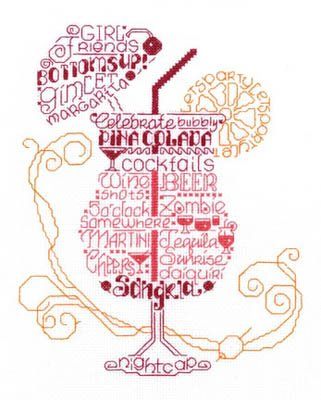 Let's Party Cross Stitch Chart