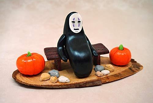 Multi Amazings No Face Ghibli Spirited Away Halloween Theme Figure -