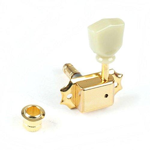 (Gotoh Locking Machine Heads - 3 per side - SD90 - MG - SL - Gold)