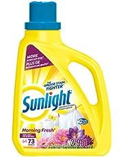 Sunlight Morning Fresh Hec Liquid Laundry Detergent, High Efficiency, 64 Wash Loads, 2.95 litres