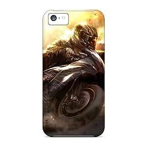linJUN FENGSeries Skin Case Cover For Iphone 5c(slidebike)
