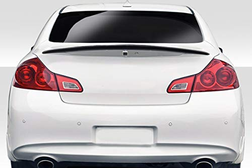 Duraflex Replacement for 2007-2013 Infiniti G Sedan G25 G35 G37 / Q40 VIP Wing Spoiler - 1 Piece