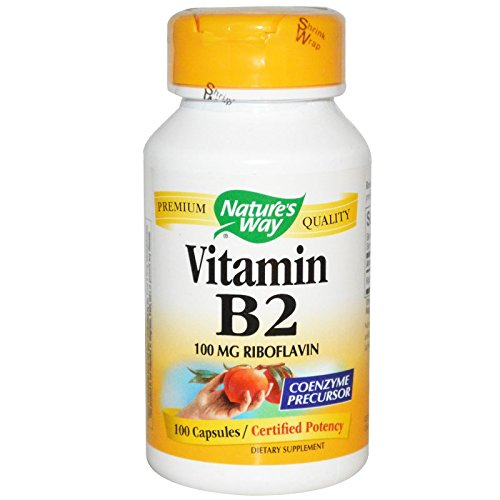 Nature's Way B2 100 Mg 100 Cap - 6 Pack