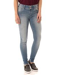 WallFlower - Jeans para Mujer Instasoft Ultra Fit Skinny