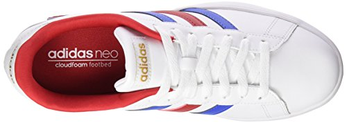adidas Herren Derby Vulc Skaterschuhe, Blau Weiß / Blau / Goldfarben (Ftwbla / Azul / Dormat)