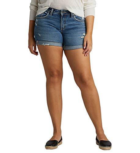 Womens Boyfriend Mid Rise Jeans Silver Jeans Co
