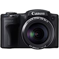 Canon Digital Camera PowerShot SX500IS 16MP x30 Optical Zoom PSSX500IS - International Version