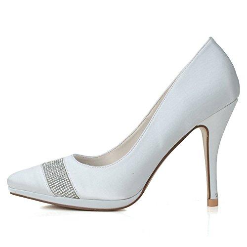 Cfp White Donna Zeppa Con Sandali 6qwvnf6r