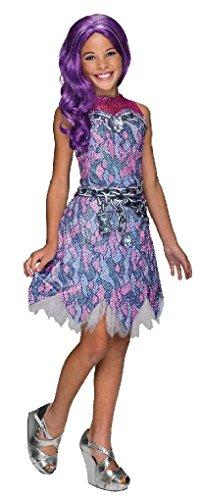 [Ponce Girls Monster High Spectra Vondergeist Costume Pink Purple Kids] (Spectra Costumes)