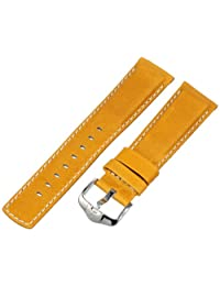 Hirsch 145021-70-22 22 -mm  Genuine Calfskin Watch Strap