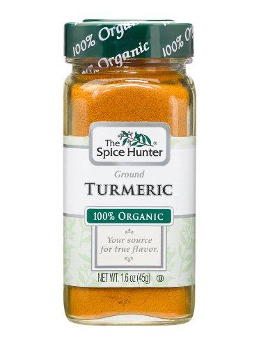 The Spice Hunter Turmeric, Ground, Organic, 1.6-Ounce Jar