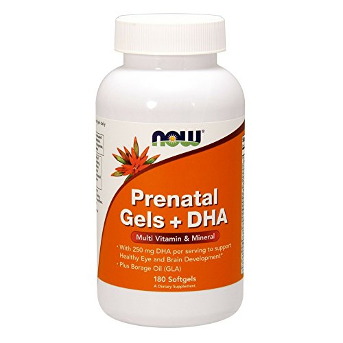 NOW Prenatal Gels DHA Softgels
