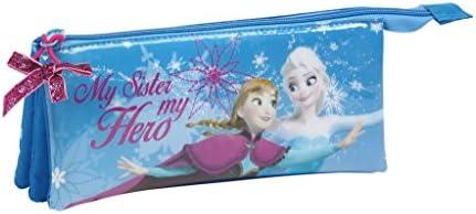 Disney Frozen - Frozen, estuche Funda (S744) de plumas, colour azul, 22 x 9 x 3 cm: Amazon.es: Juguetes y juegos