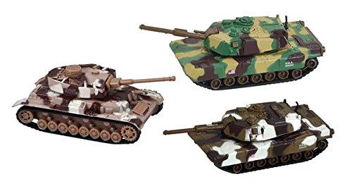 Die Cast Power Tank 4.5 inch (Set of 3)