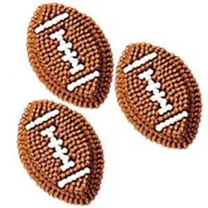 Wilton Icing Decorations - Football ()