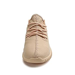 Women Casual Warm Snow Boots Shoes Men Low Top Lightweight Fashion Sneaker for Winter Outdoor Walking, Beige