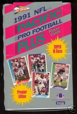 - 1991 Pacific Football Cards Unopened Hobby Box