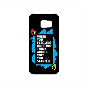 Fmstyles - Samsung S6 Mobile Case - When You Feel like quitting