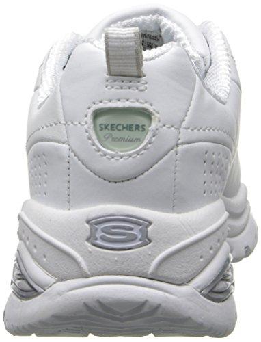 Skechers Sport Damen Premium Sneaker Weiß