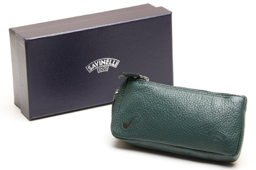Savinelli One Pipe Pouch - Green by Savinelli
