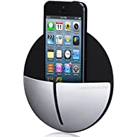 Just Mobile AluPocket Wallmount for All iPhones - Retail Packaging - Black