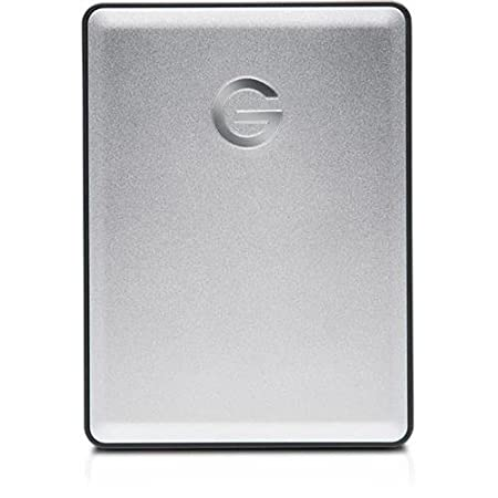 G-Technology 2TB Mobile Hard Drive (Sage and Silver)