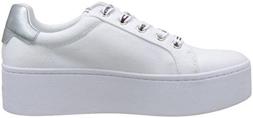 Hilfiger Denim Jeans Damer Tommy Flatform Sneaker Hvid (hvid 100) 627NBW