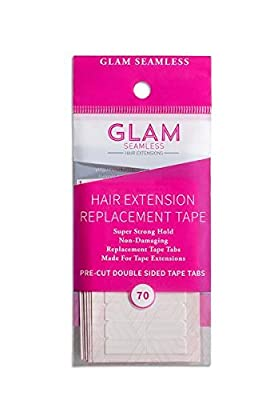 Glam Seamless Hair Extension Tape for Tape In Hair Extensions