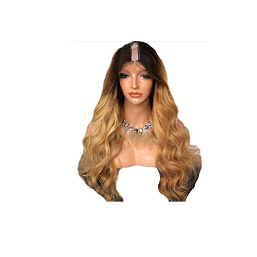 mebake Brazilian Body Wave 13 size U Part Ombre Blonde color 8inch 28inch Remy Human Hair Wigs With Natural Hairline U Part Wigs,24inches,150%