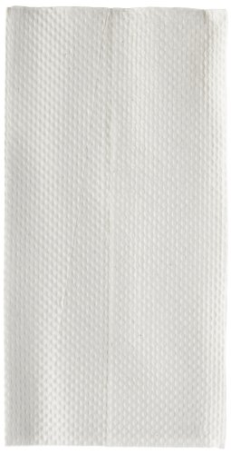 Georgia-Pacific HyNap 33201 White Tall Fold Dispenser Napkin, 13.5
