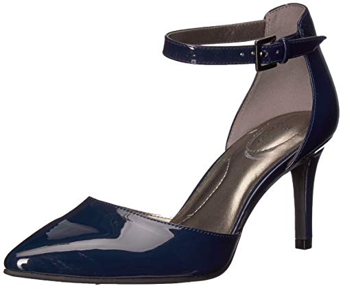 Bandolino Women's GINATA Pump, Navy, 8 Medium US