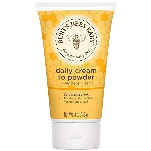 Burt's Bees Baby Daily Cream-To-Powder 4 oz (Pack of 6)