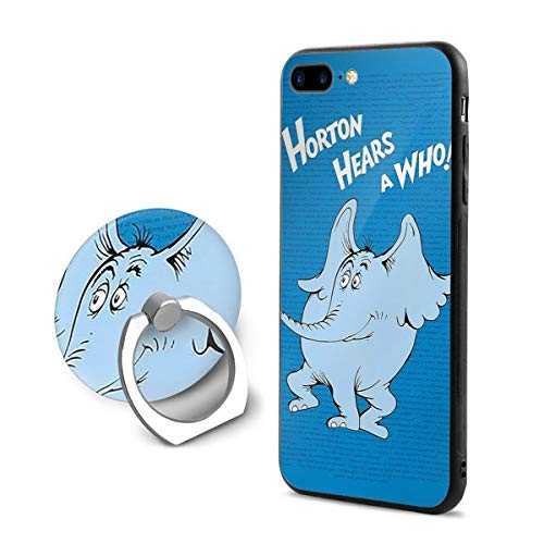 Horton Hears A Who Phone Case+Finger Ring Set Compatible with iPhone 7/8 Plus Rotation Kickstand Grip