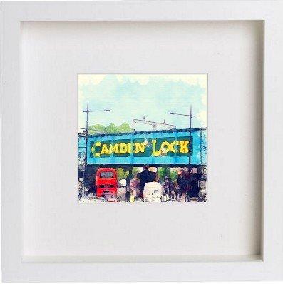 CORINE: Lock wall in london