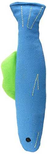 OurPets 100-Percent Catnip Filled Fish Cat Toy, Annette
